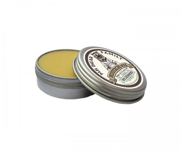 Mr Bear Family Moustache Wax (Bartwichse) 30 ml - Duft: Wilderness