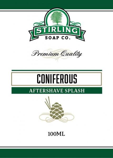 Stirling Soap Company - Aftershave Splash Coniferous 100 ml