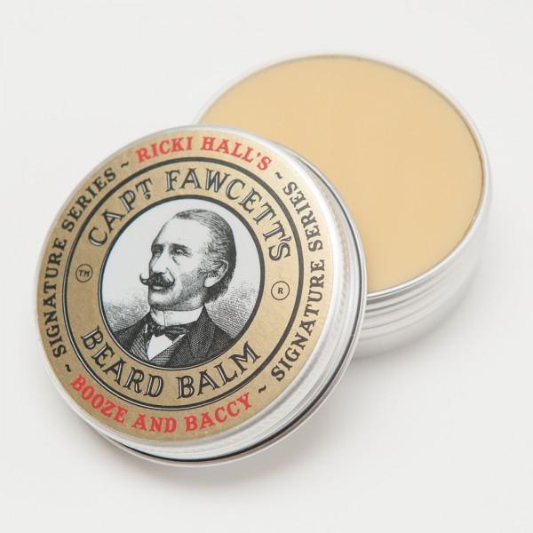 Captain Fawcett - Beard Balm (Bartbalsam) - Ricki Hall Booze & Baccy 60 ml