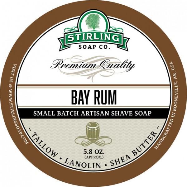 Stirling Soap Company - Rasierseife Bay Rum 170 ml
