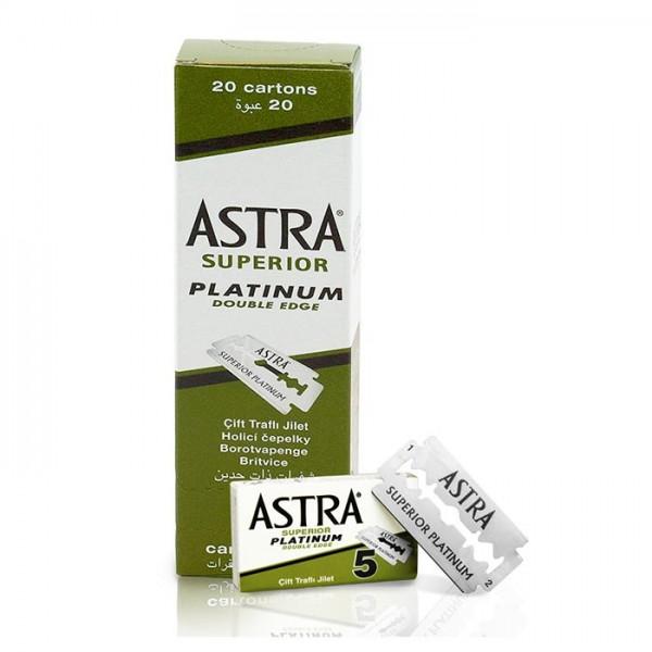 Rasierklingen Astra Superior Platinum 100 Klingen (=20 Pkg)