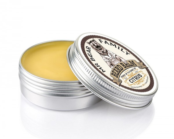 Mr Bear Family Beard Balm (Bart Balsam) 60 ml - Duft: Citrus