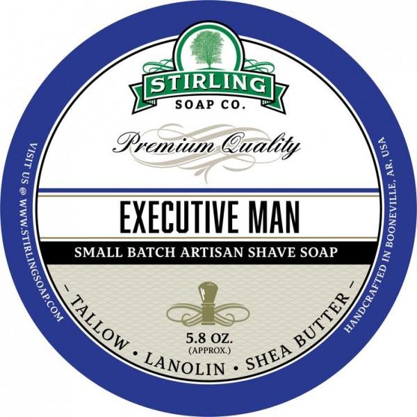 Stirling Soap Company - Rasierseife Executive Man 170 ml