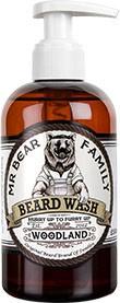 Mr Bear Family Beard Wash (Bartseife) 250 ml - Duft: Woodland