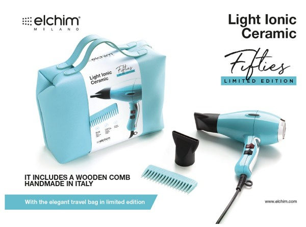 Elchim Light Fifties Profi-Haartrockner - Limited Edition