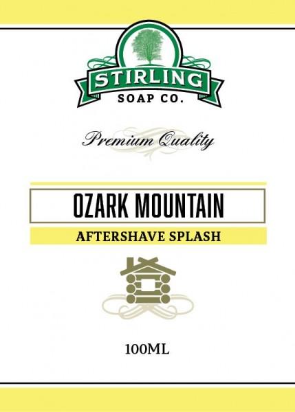 Stirling Soap Company - Aftershave Splash Ozark Mountain 100 ml