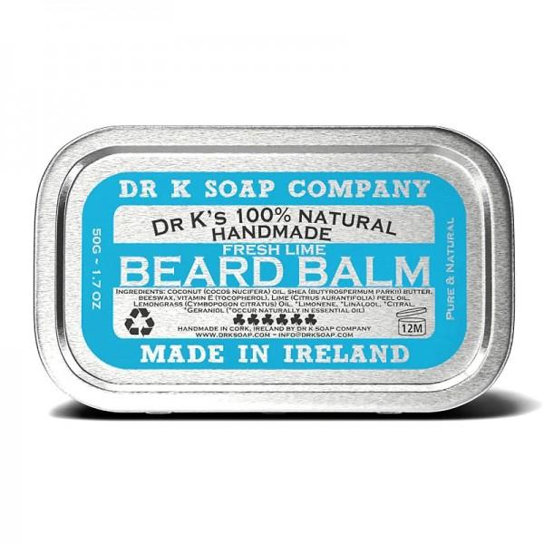 Dr K Beard Balm FRESH LIME - Bartbalsam 50g