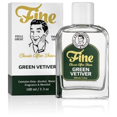 Fine Classic After Shave - Green Vetiver 100 ml