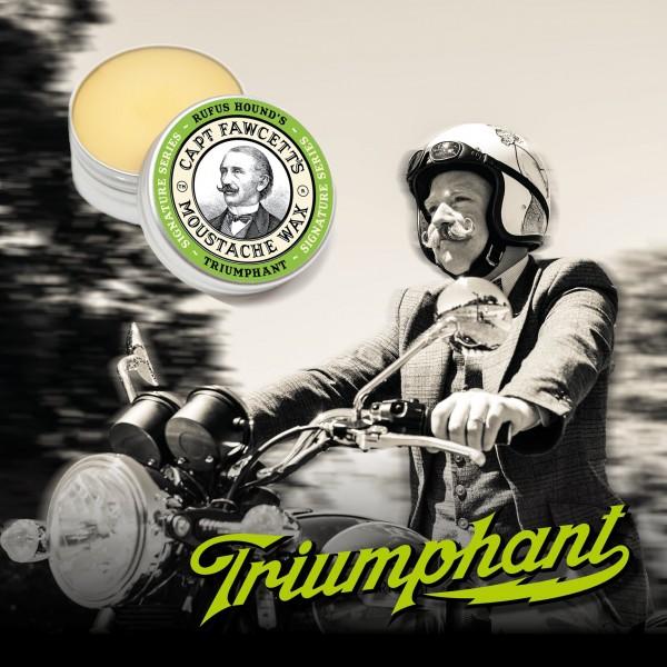 Captain Fawcett - Moustache Wax (Bartwichse) - Triumphant 15 ml