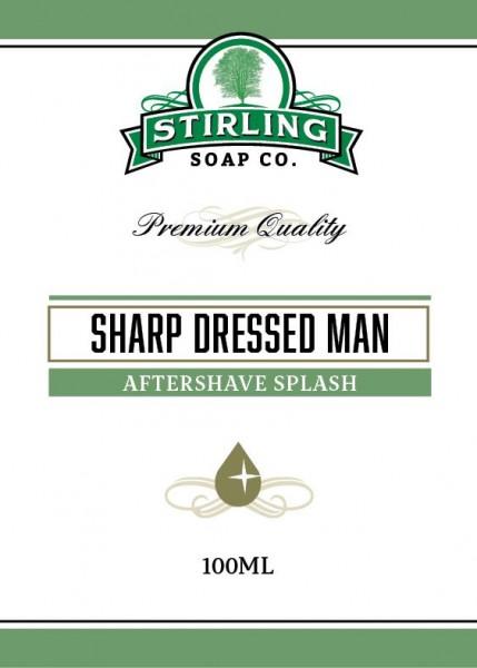 Stirling Soap Company - Aftershave Splash Sharp Dressed Man 100 ml