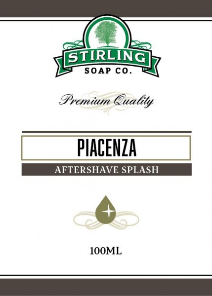 Stirling Soap Company - Aftershave Splash Piacenza 100 ml